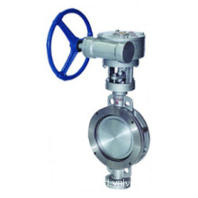 API 598 Flanged Butterfly Valve
