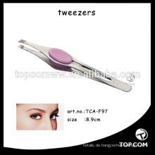 Gerade Augenbrauenpinzette / Funktion Damenpinzette Wimpernverlängerung