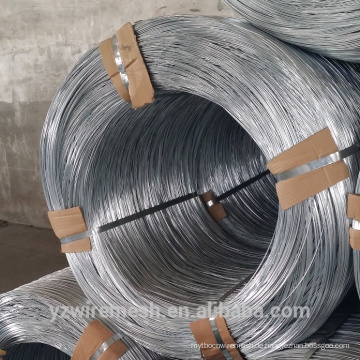Direkte Fabrik verkaufen galvanisierten Draht / gi Bindung Draht / Hot Dip Elektro-verzinktem Eisen Draht