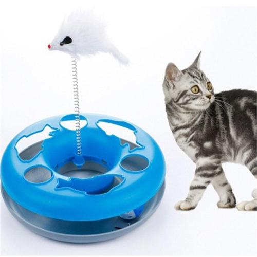 4 colores New Spring Cat Toy