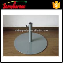 стальной круглый зонтик базы зонтик, стальное основание, основание утюга
