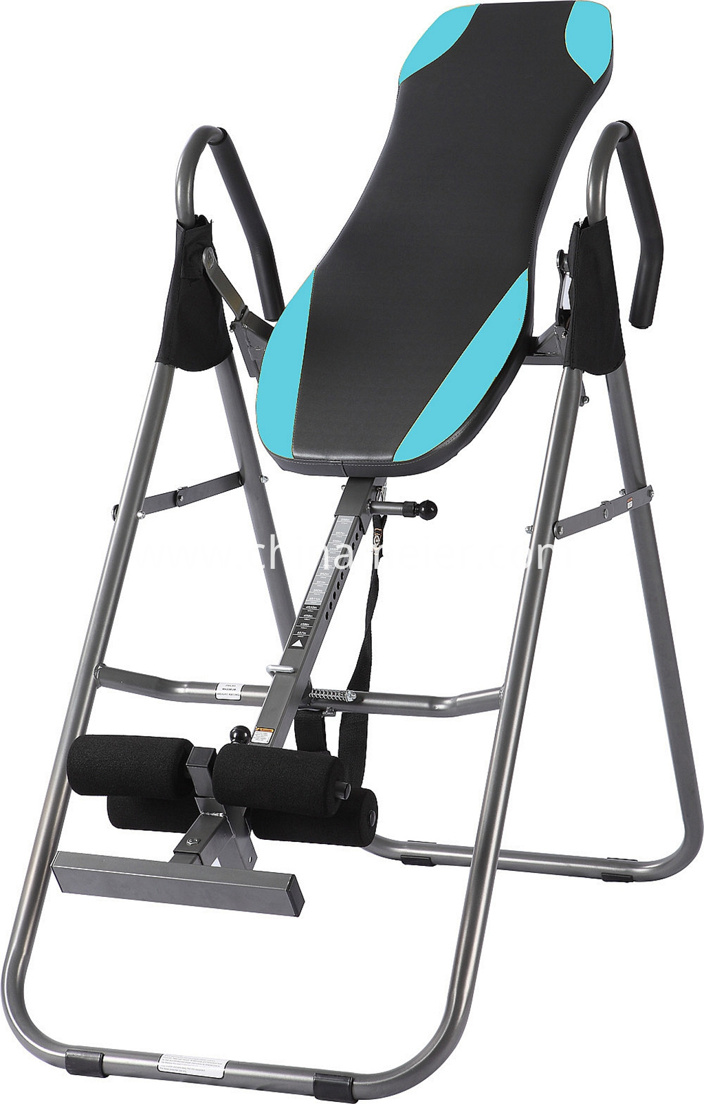 inversion table stretching exercise