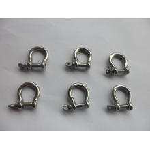 Black stainless steel adjustable shackle