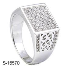 Último anillo de plata del diseño de la joyería de la manera del diseño 925