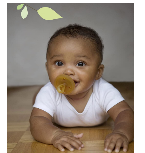 Natural Rubber Silicone Pacifier
