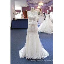 Sheath Fashion Lace Bridal Evening Wedding Dress