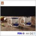 Boa qualidade 450ml dupla cor esmalte cerâmica caneca