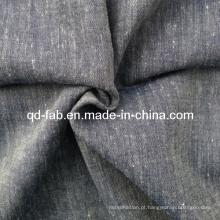 Algodão de linho misturado tecido (QF13-0750)