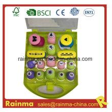 Perforador de papel de plástico en caja de PP