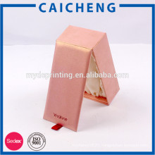 China Manufacturer colourful paper custom gift boxes with satin