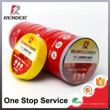 Guangzhou Electronic Flame Retardant Vinyl PVC Pipe Tape Preto Branco Vermelho Amarelo Blue Green Industrial Adesivo