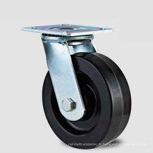 Roulette à roues résistant à haute température H13 à service lourd