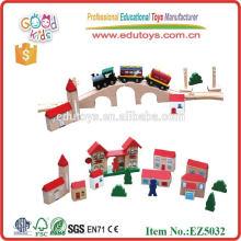 2013 Top Kids Wooden Train Set