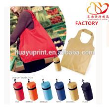 Sac de supermarché en vrac sac à dos portable en nylon sac à provisions sac en polyester résistant à l'eau grande