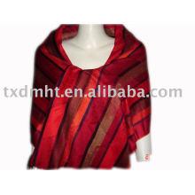fashion acrylic shawl for tendy women in winter
