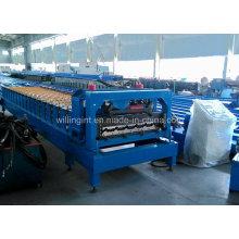 Formadora de rollo de azulejos de acero galvanizado