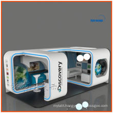 3x6 trade show exhibition booth display, custom 10x20 arch display exhibition booth system from Shanghai