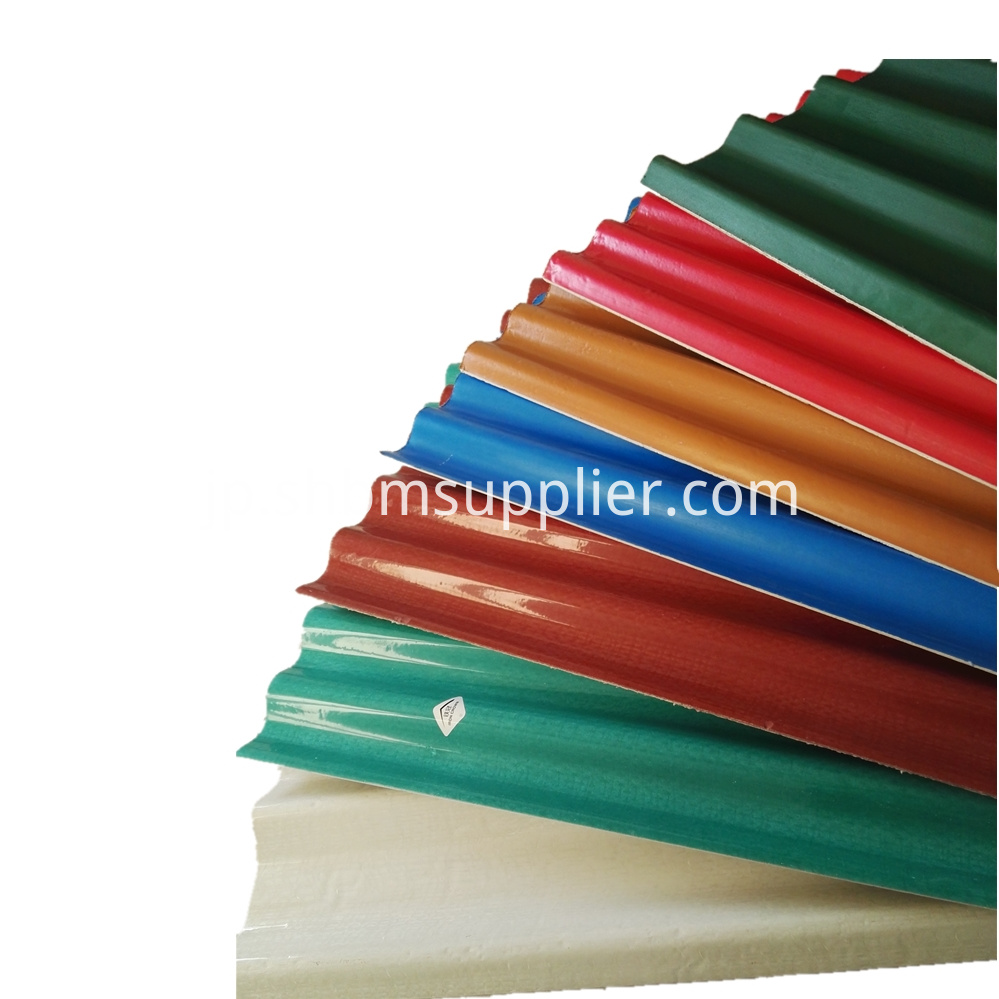 Corrugated Fiberglass MgO Roofing Sheet Sizes