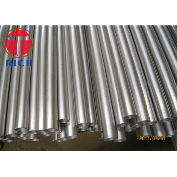 Seamless hydraulic steel tube and tubing