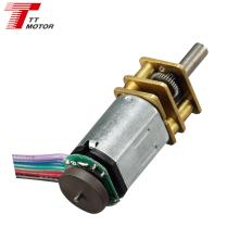 GM12-N20VA 30mm output shaft n20 gear motor mini encoder