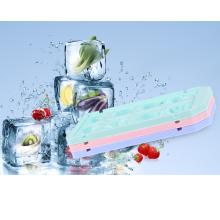 bandeja plástica de encargo del cubo de hielo de la forma de la fruta del foodgrade del hogar para la venta al por mayor