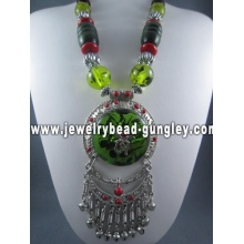 Wood necklaces fashion jewelry