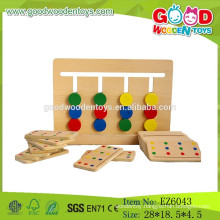 Hot Sale Educational Wooden Toys,Color Match Games,Baby Match Games