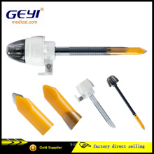 Geyi CE Certificate Disposable Surgical Medical Laparoscopic Trocar with Blade