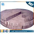 Duplex UNS S32750 stainless steel distillation column packing wire mesh net