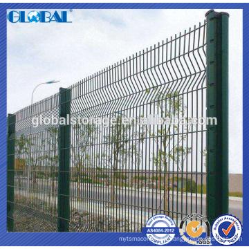 Cerca de alambre barata del jardín de la fuente de la fábrica de China / poste barato de la cerca de alambre