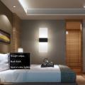 Отель акриловые настенные Люстра светодиодная светильники
