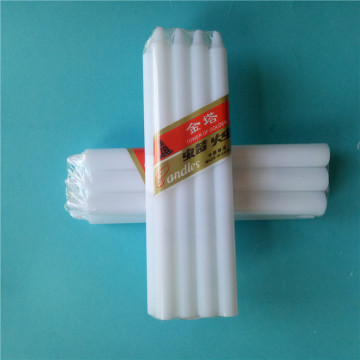 50G Lighting Décoration de bougies blanches en cire pure