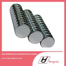 Aimant de NdFeB de cylindre de haute qualité sur l'industrie Manfuctured de l'usine de la Chine