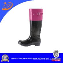 Neujahr Mode Gummi Material Regen Stiefel