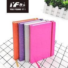 Benutzerdefinierte Farbmuster Abdeckung PU Hardcover Notebook