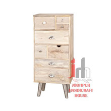 Gabinete de madera natural