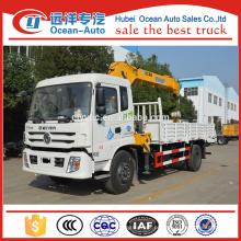 Dongfeng 8 Ton Telescopic Boom Caminhão Crago Crane