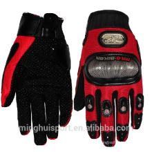 МХ внедорожных мотоциклов взрывоустойчивый углеродного волокна гонки на мотоциклах кожаные перчатки для продажи