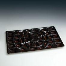 Пластиковая упаковка высокого качества для шоколадного лотка