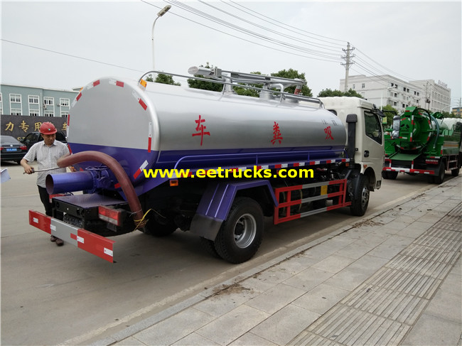 7200L Septic Tank Trucks