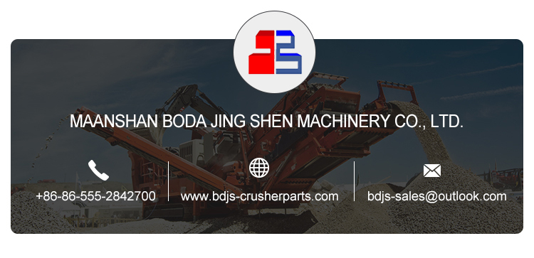 VSI crusher parts
