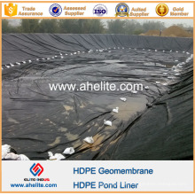 Geomembrana HDPE lisa de 1,5 mm para tanque de aceite