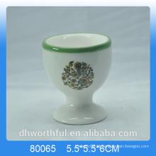 Alta qualidade Decalque barato Copo de ovo de cerâmica