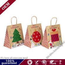 China Factory Cuztomized Print Christmas Gifts Bag Packaging Bag