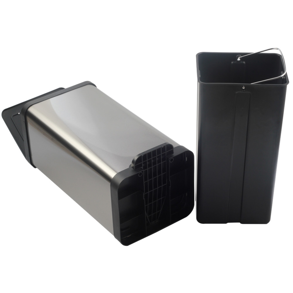 Stainless Steel Pedal Bin With Silent Soft Step