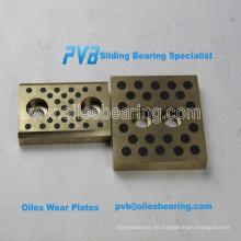 Öl imprägniert Bronze Buchse, Graphit Sae841 Solid Bronze Drucklager, Bronze Platte