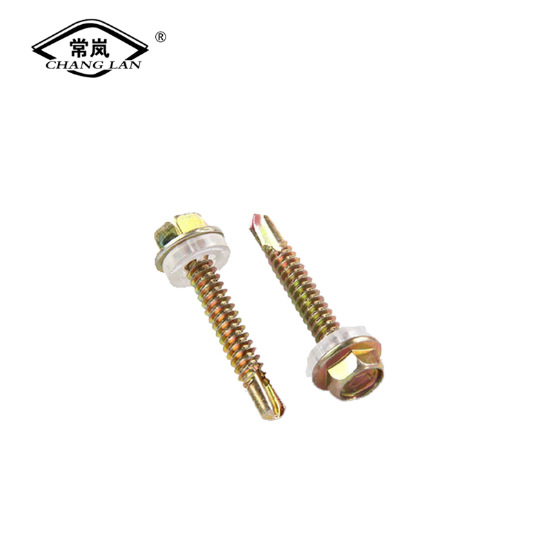 Inch Hexagon head self-drilling screws