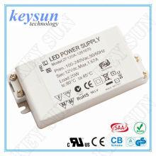 48W 4000mA 12V AC-DC Constante Voltagem LED Driver Alimentação com UL CUL CE