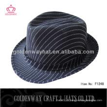 Chapeau bon marché bleu foncé fabriqué en polyester