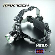 Maxtoch HE6X-1 Cree T6 Scheinwerfer wiederaufladbar